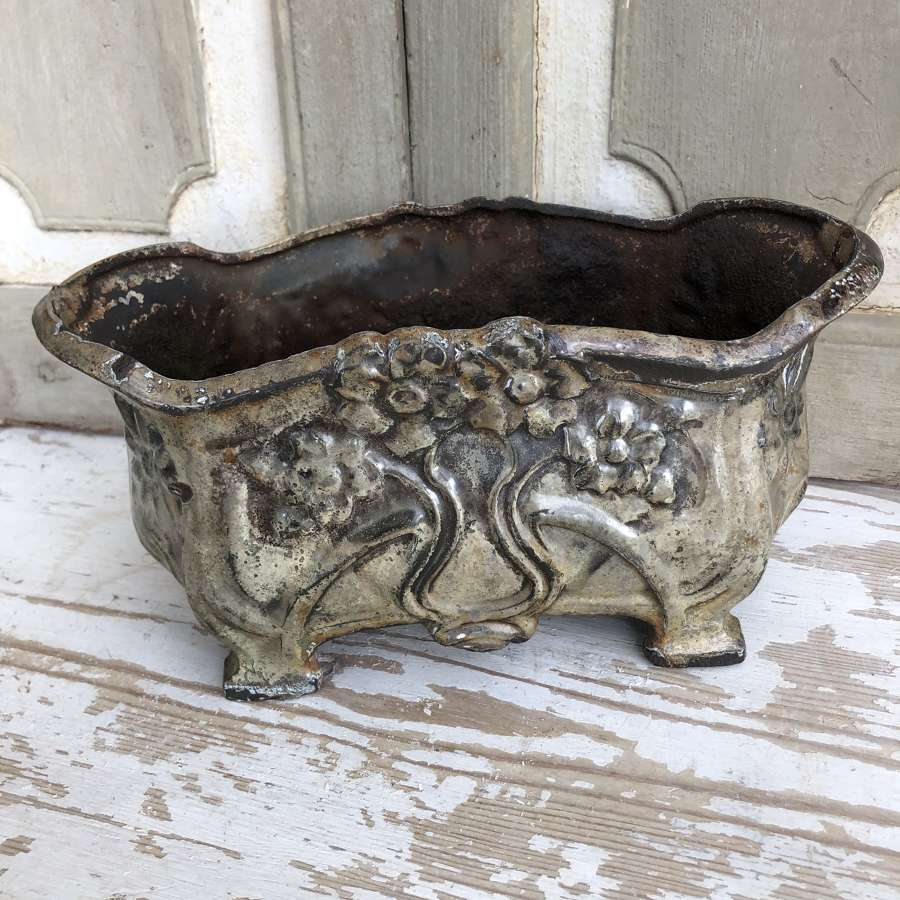 Small Enamel Planter