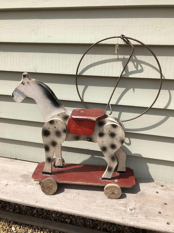 Edwardian child's Toy Horse