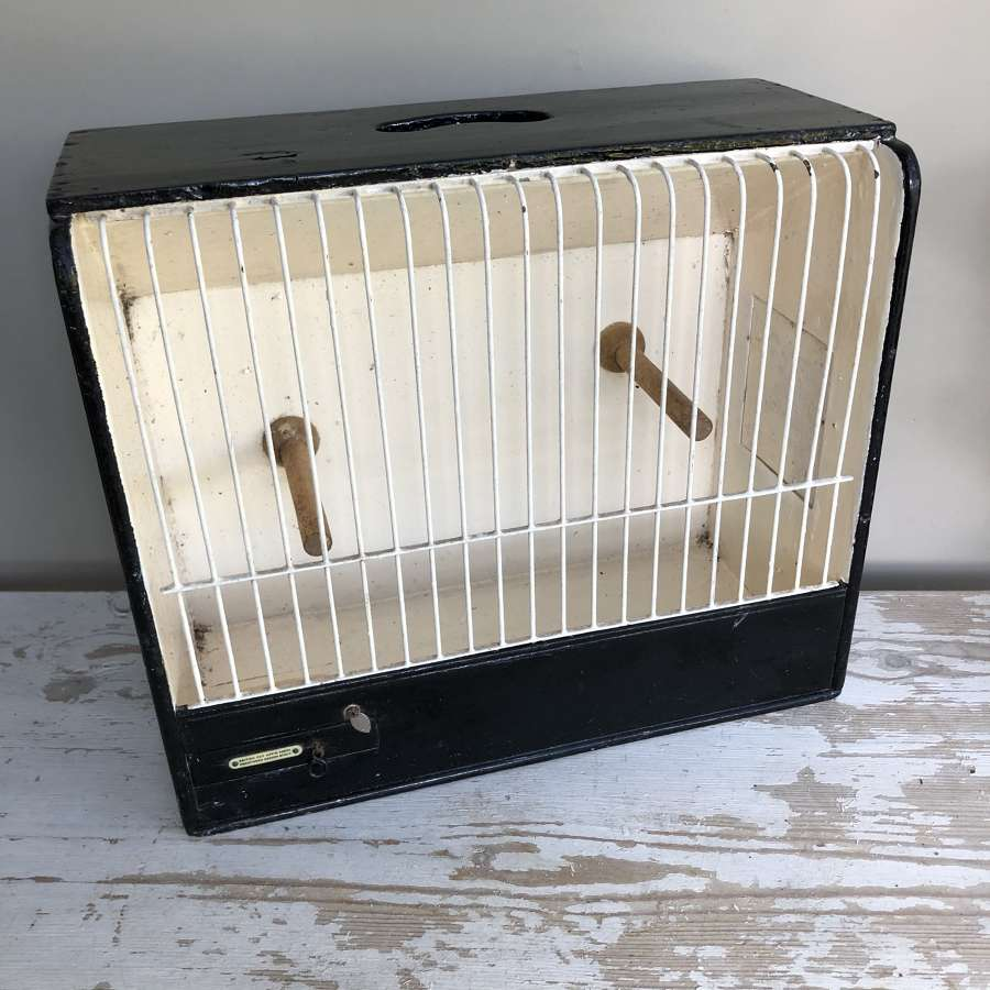 Vintage Canary Show Cage