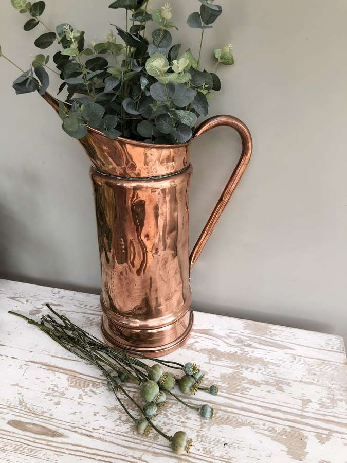 Tall Copper Jug