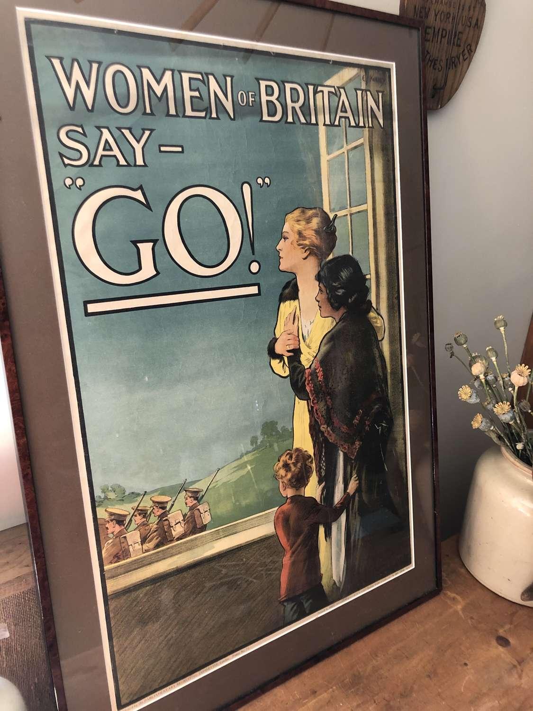 Original WW1 Poster