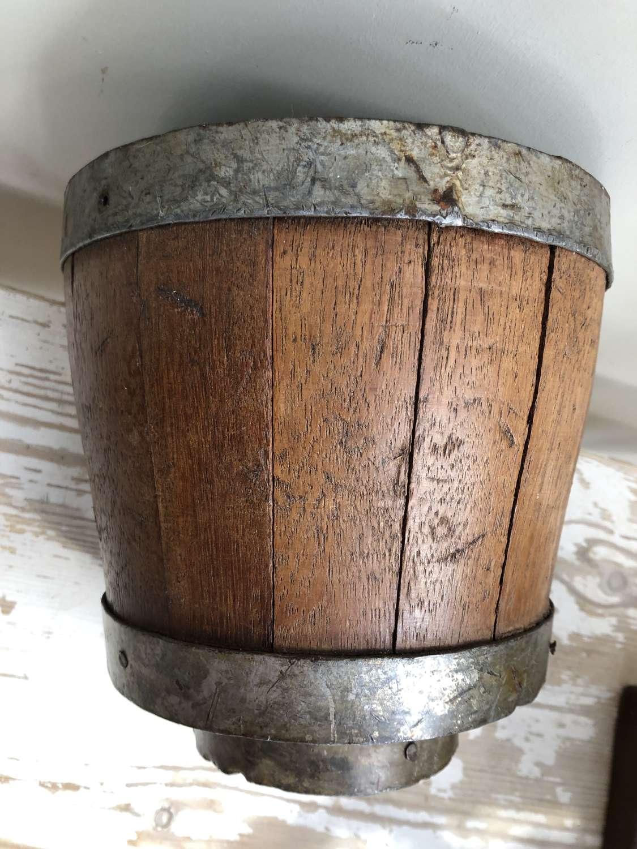 Oak Cheese Mould
