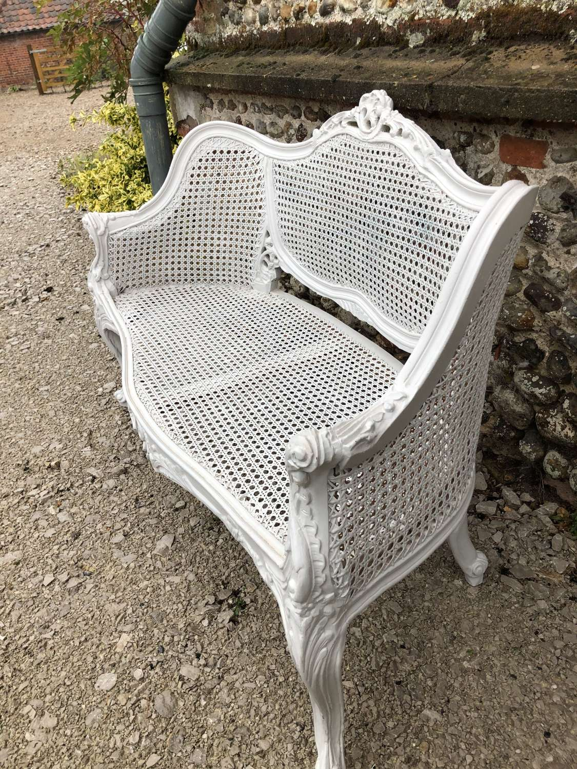 Stunning French Bergère 2 seater Sofa