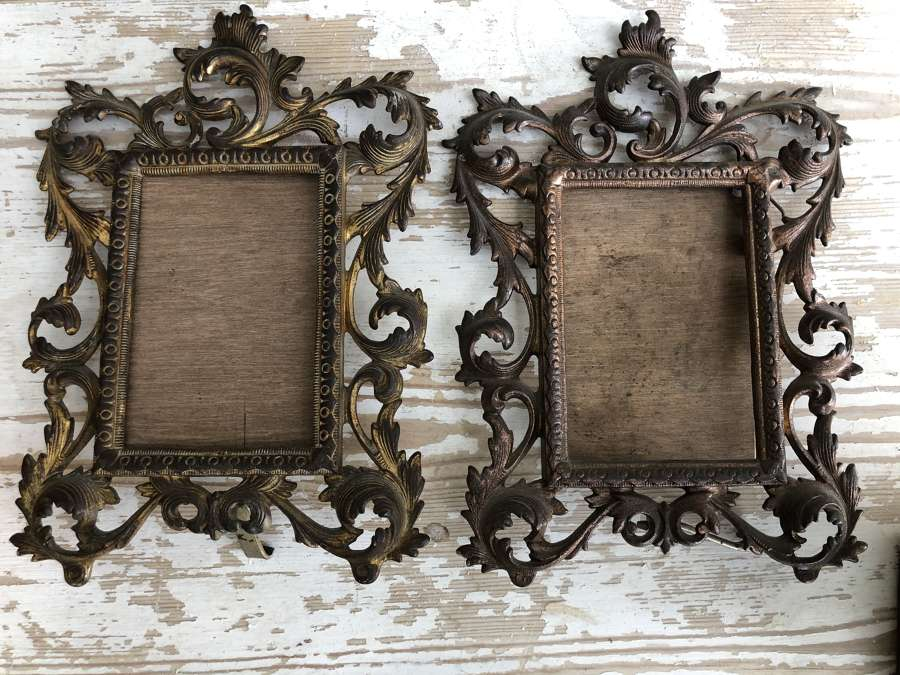 Victorian Cast Photo Frames