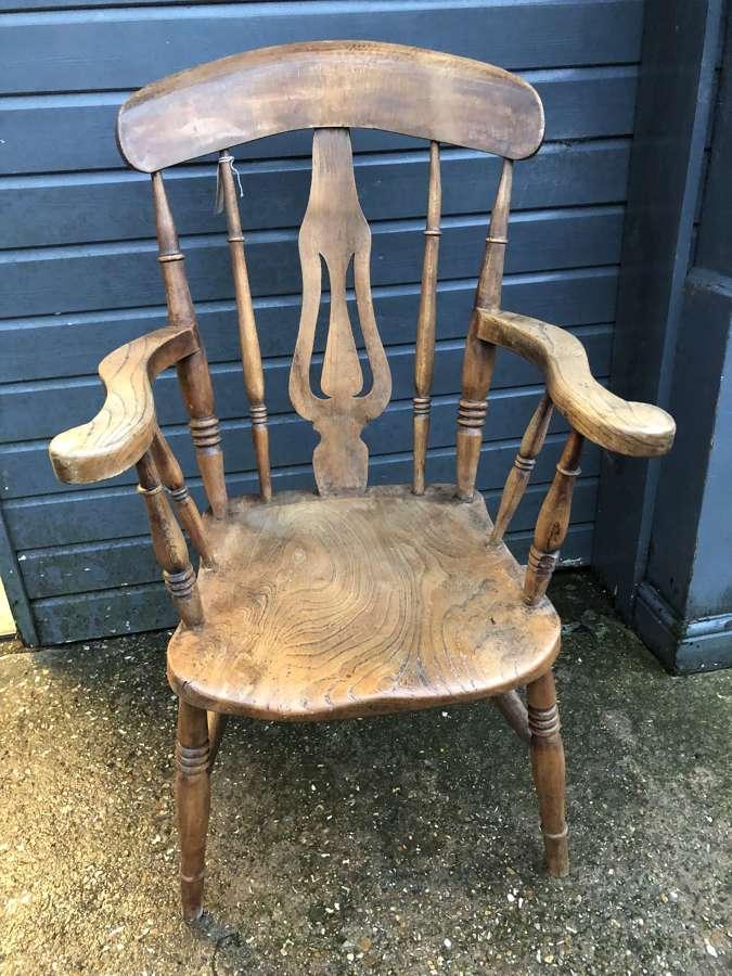 Elm Kitchen Windsor Chair