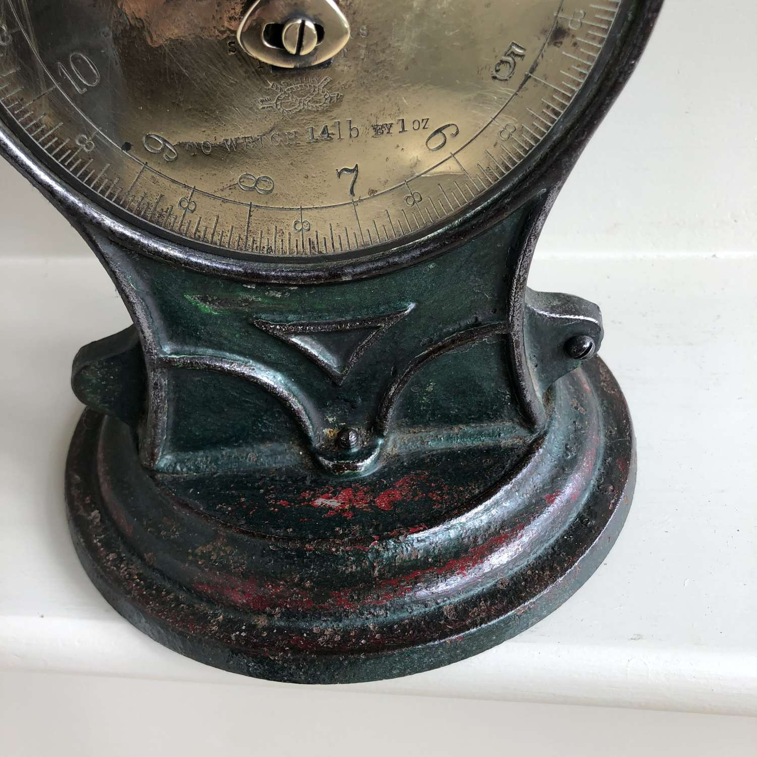 Brass Faced Salter Family Scales