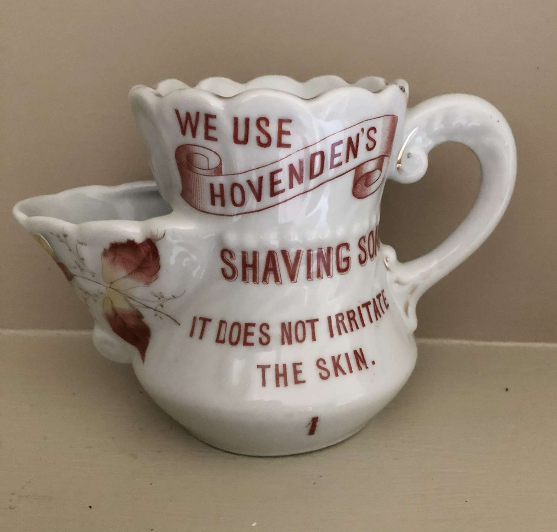 Hovenden's Shaving Soap Mug