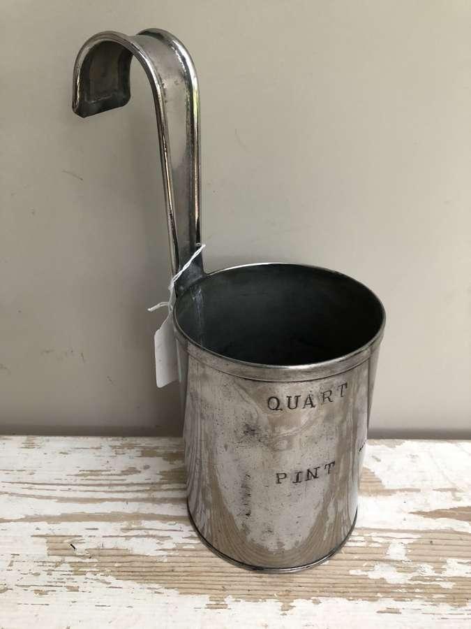 1 Quart Steel Dairy ladle