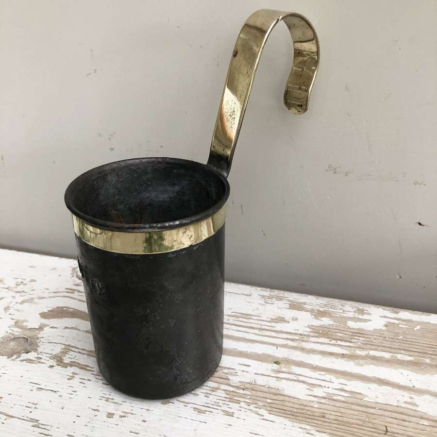 1 Pint Lister Milk Measure with brass collar