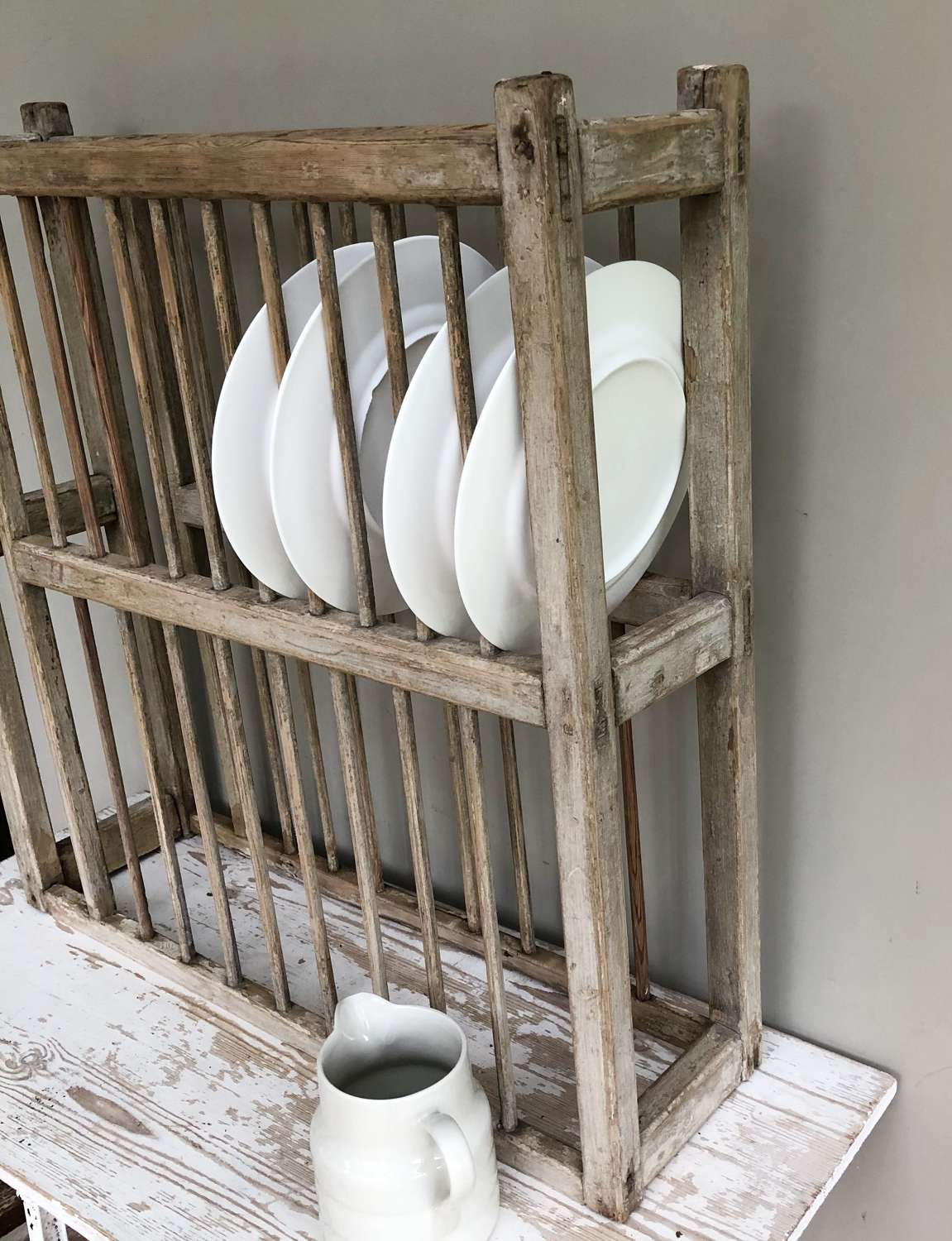 Large Victorian Plate Rack