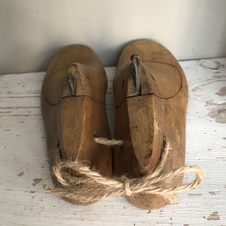 Cobbler's Shoe Moulds - child size