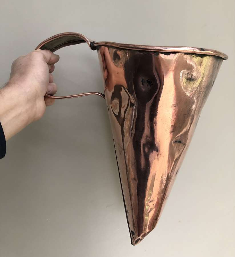Huge 19th Cent Copper Ale Muller