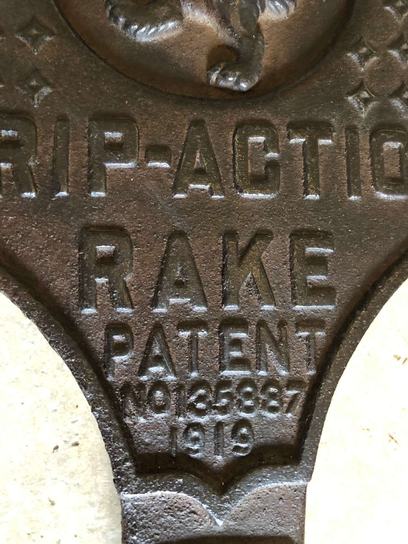Bamfords Trip Action Rake Plate