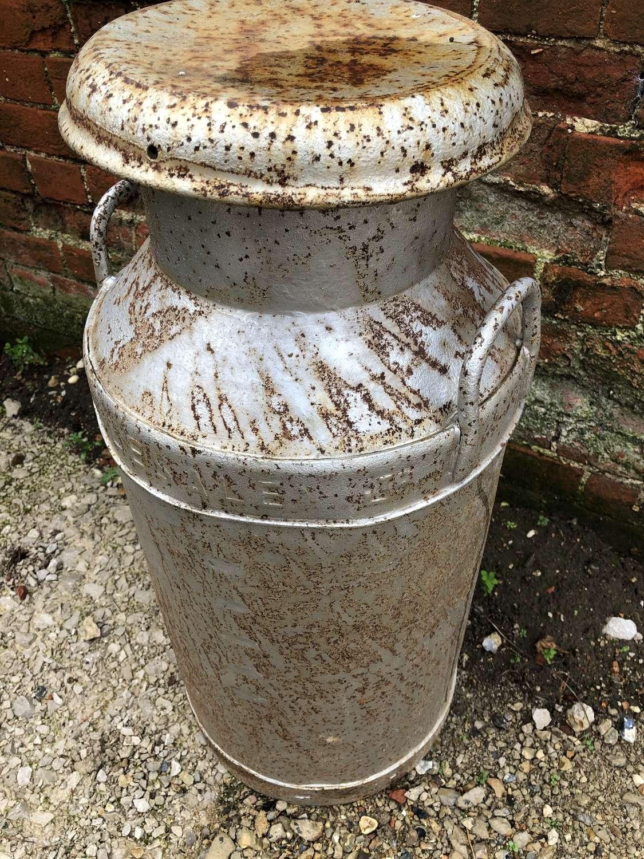 Vintage Steel Milk Churn