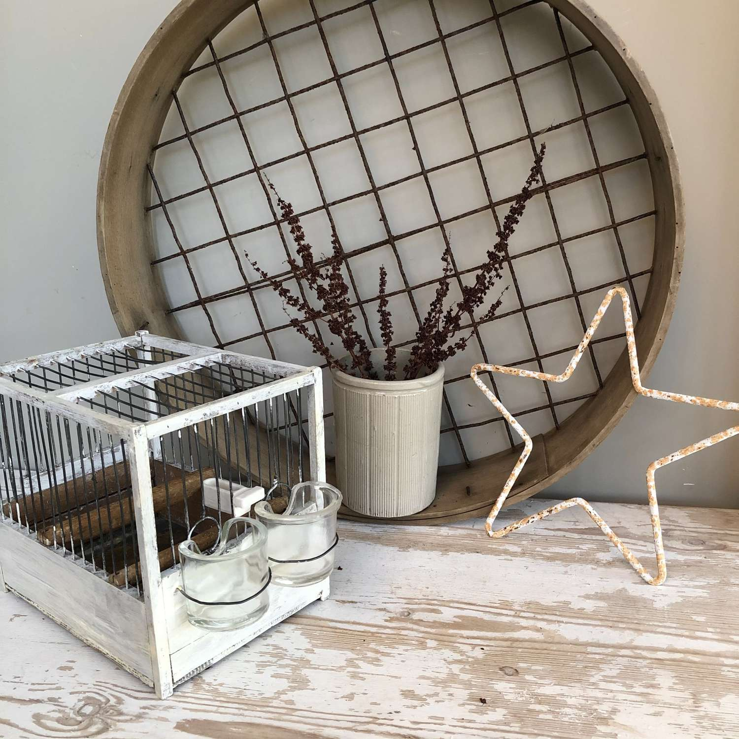 Vintage Songbird cages