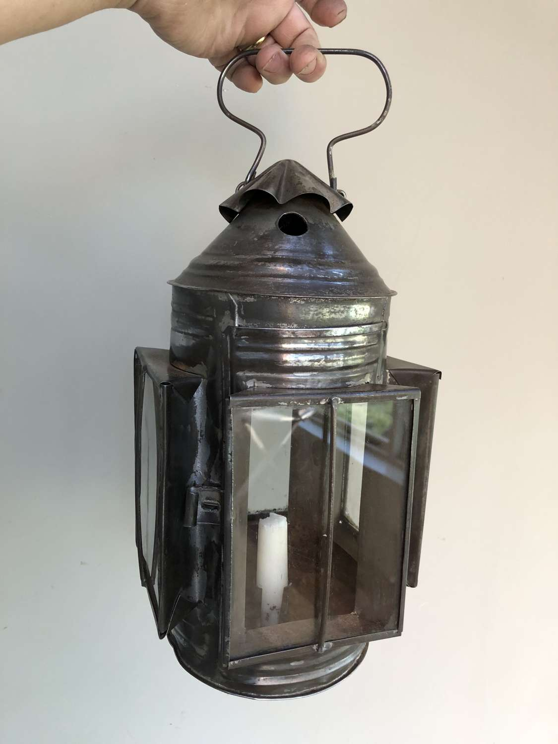 19th Cent Stable Lantern