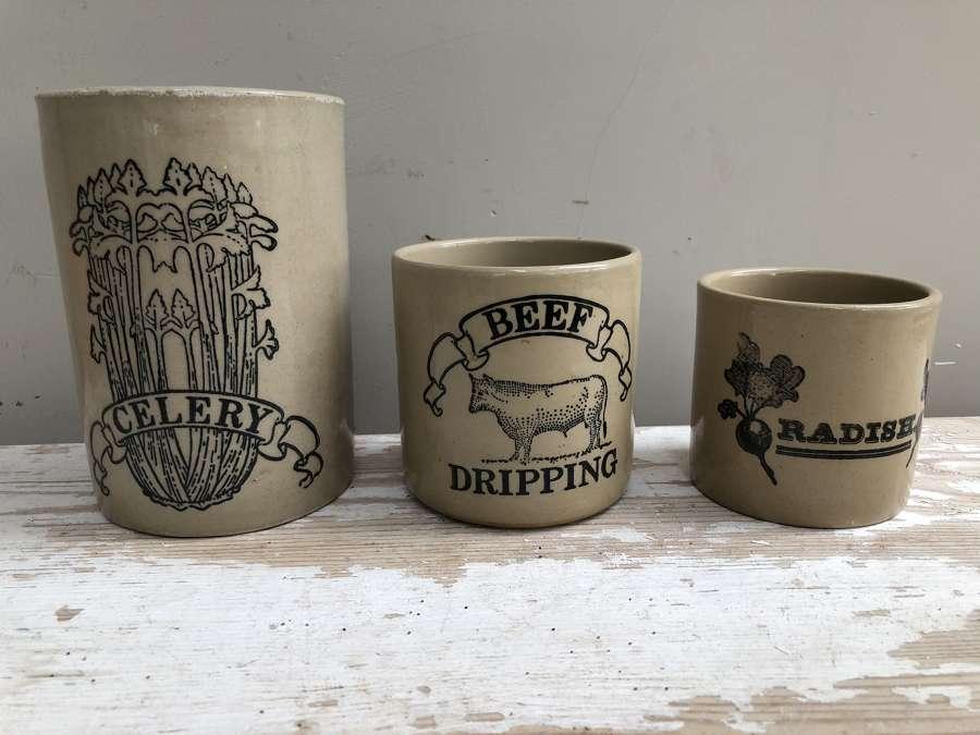Pearsons Vintage Kitchen Pots