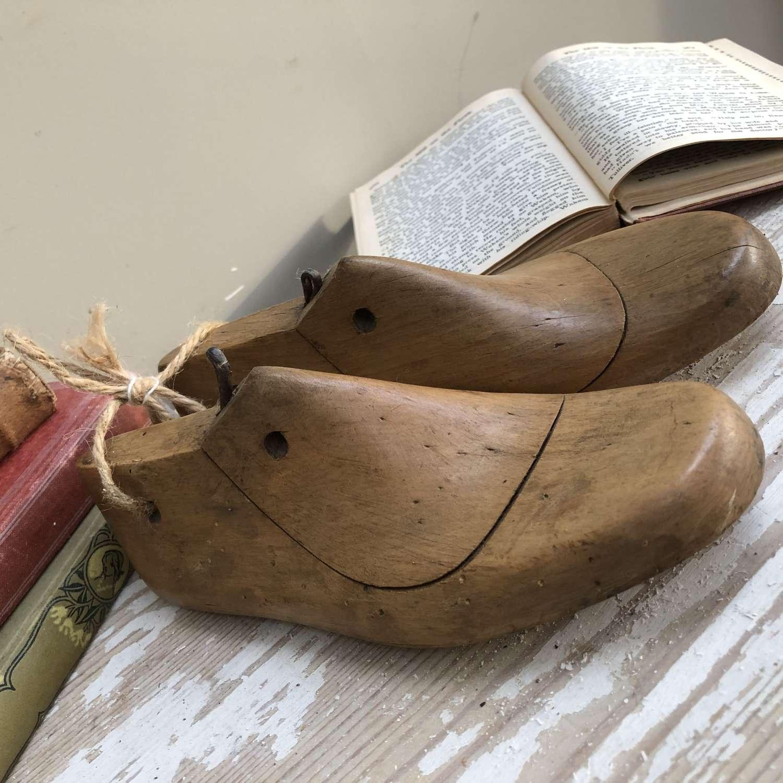 Vintage Shoe Moulds