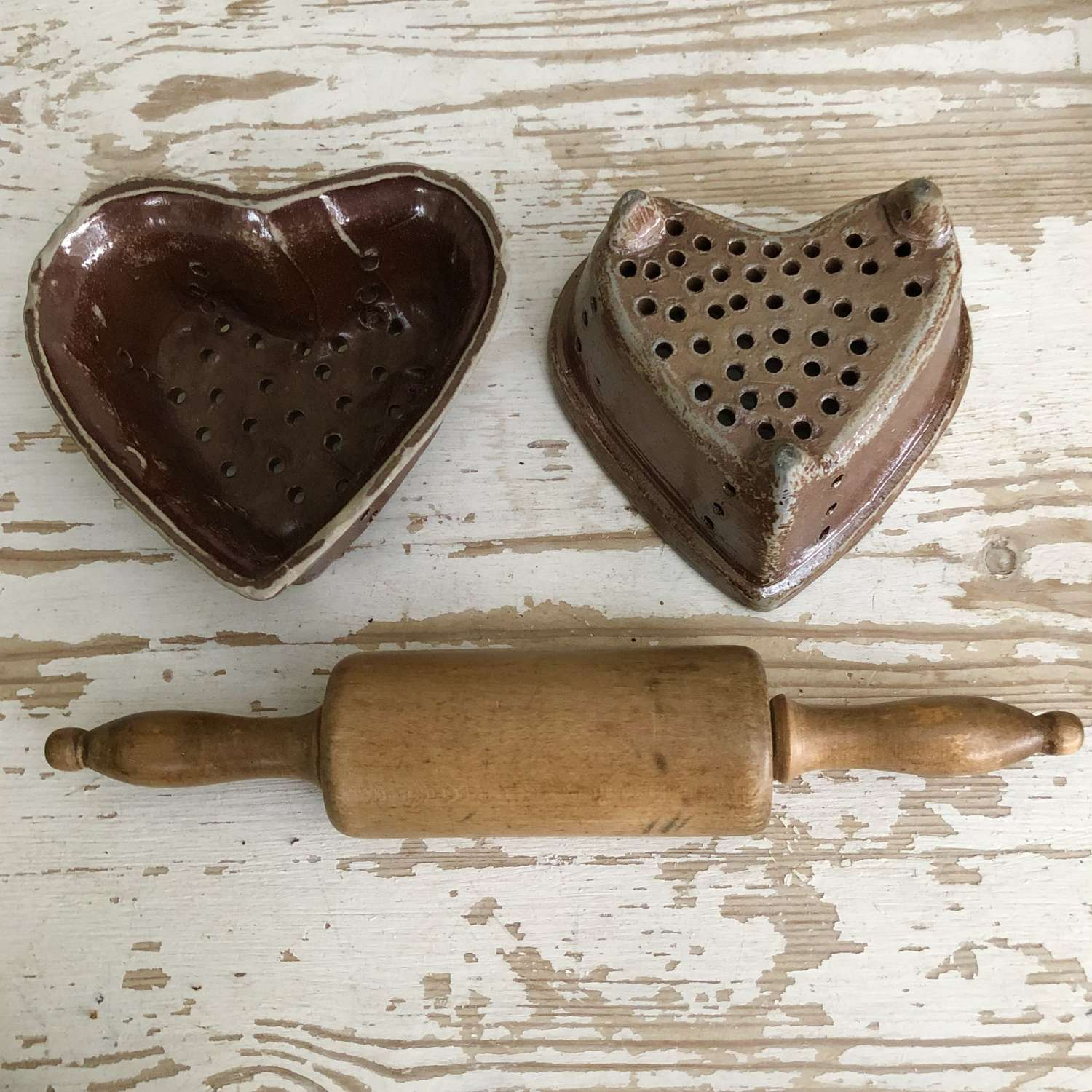 Heart Shaped Cheese Moulds