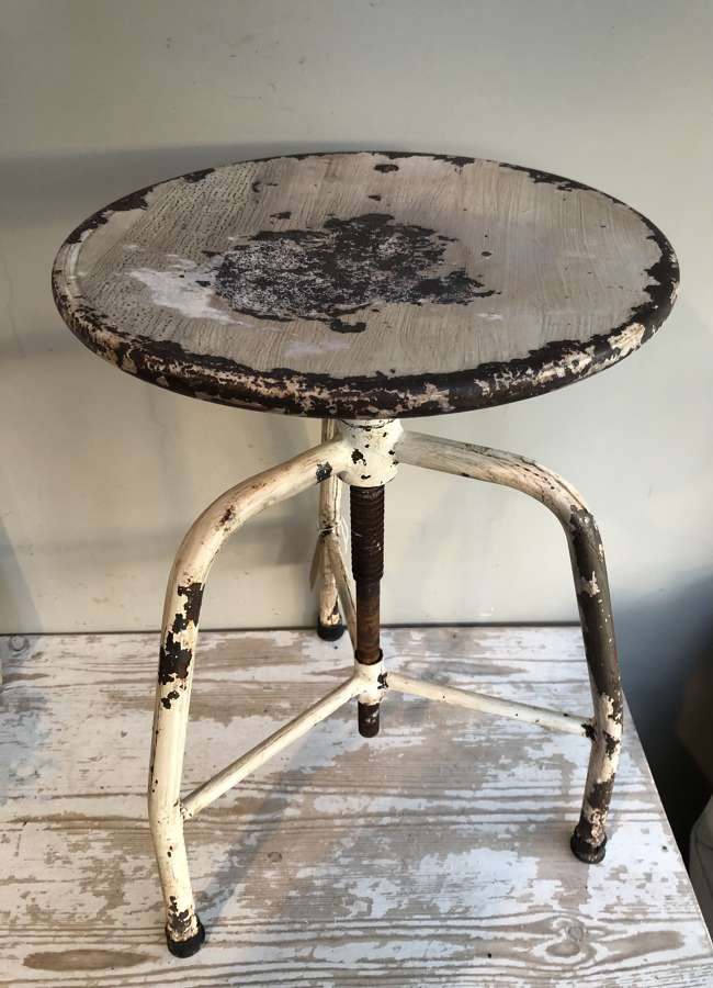Industrial Adjustable Machinist's Stool