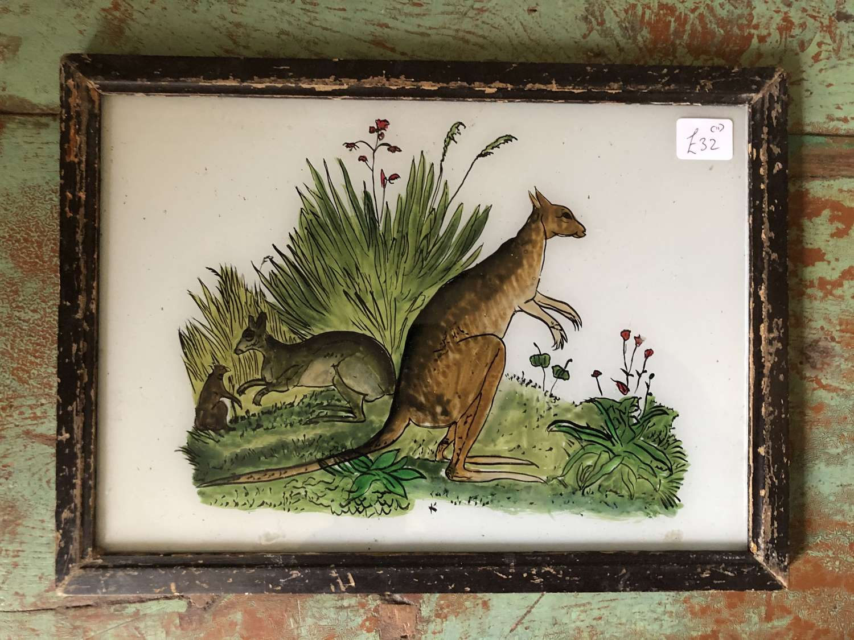 Medium size Glass Paintings ANIMALS