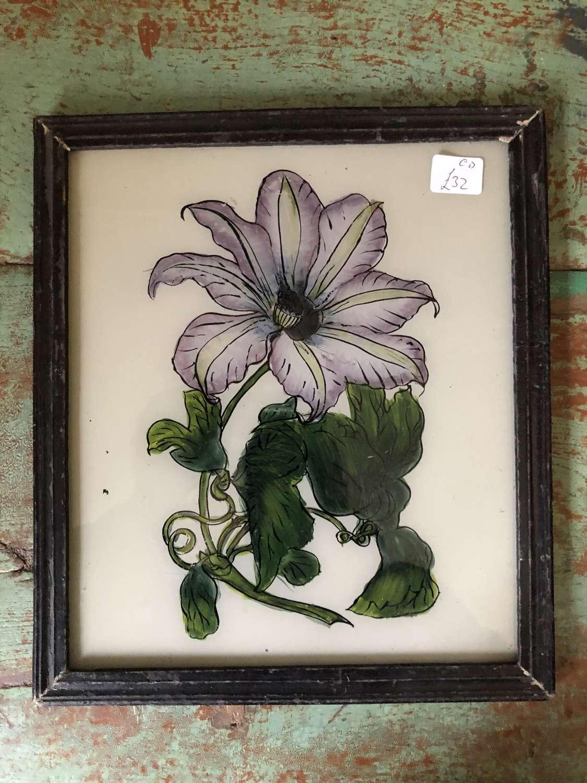 Medium Size Reverse Glas Paintings BOTANICAL