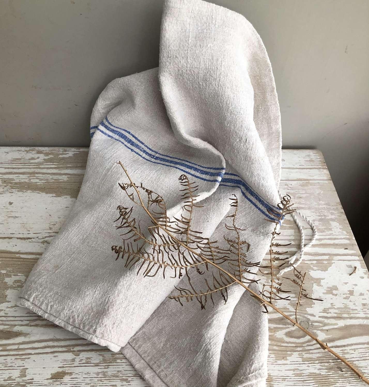 Very Large Size Linen Grain Sack