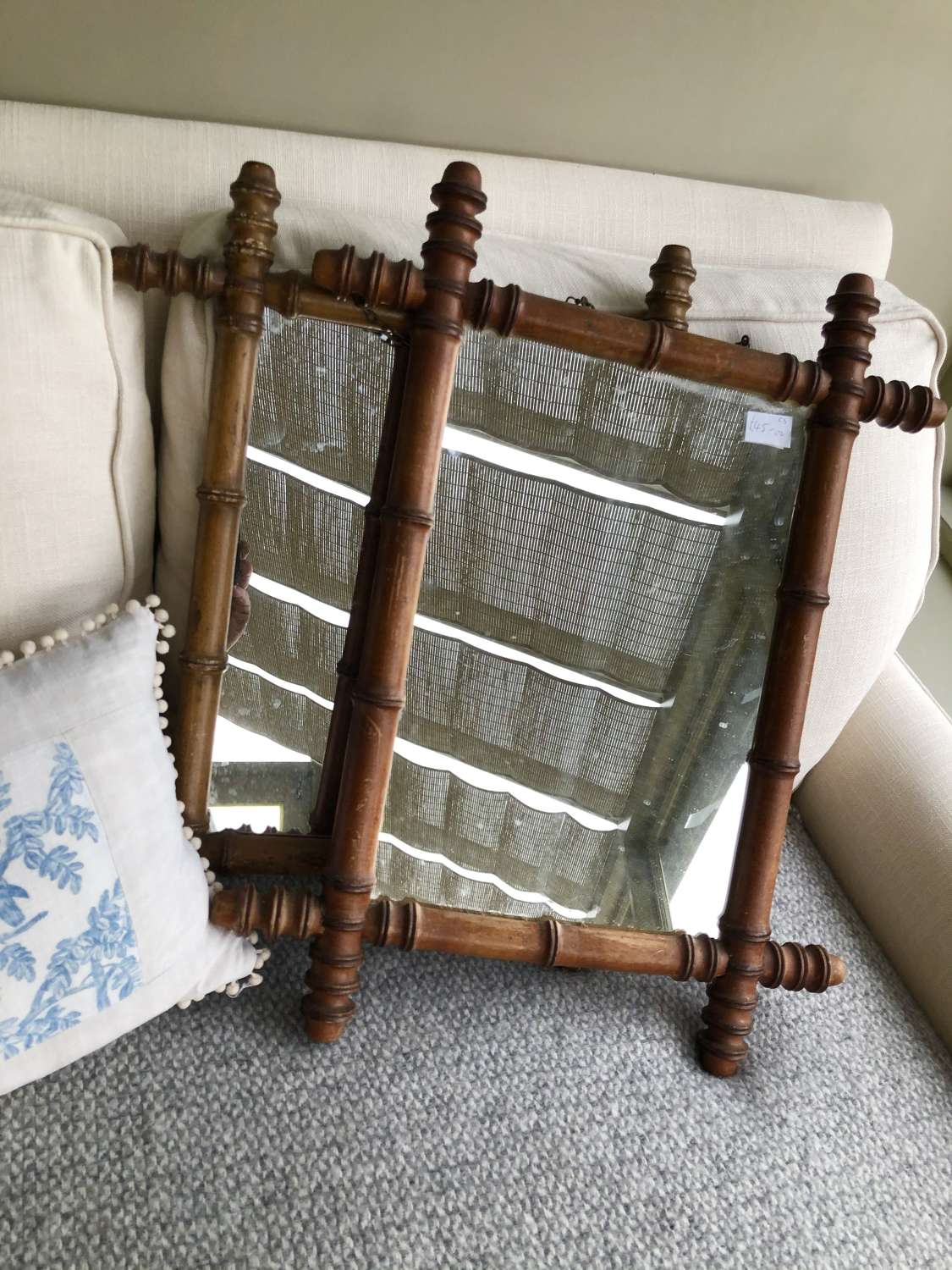 French Bamboo Mirrors