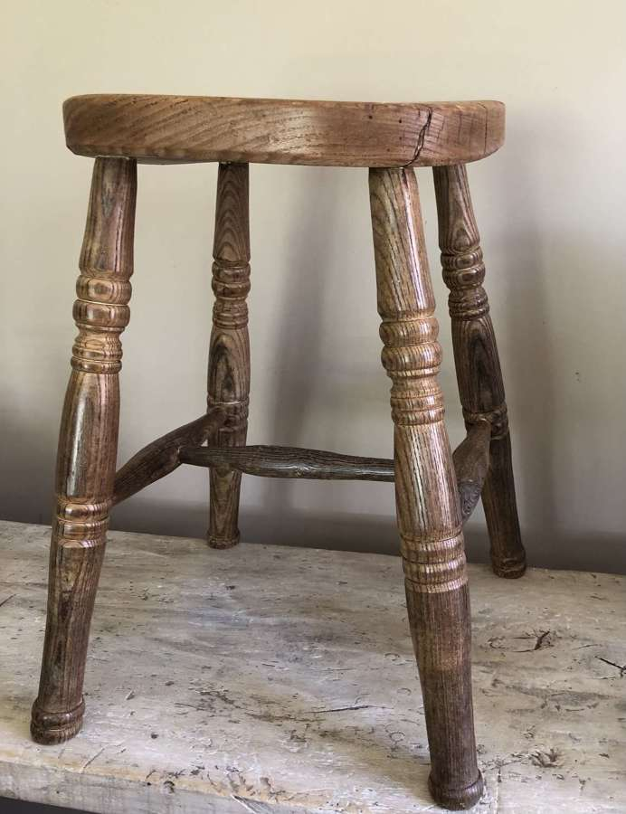 Lovely Elm Country Stool
