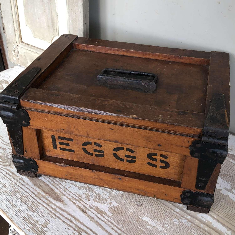 Vintage EGG TRANSPORT BOX