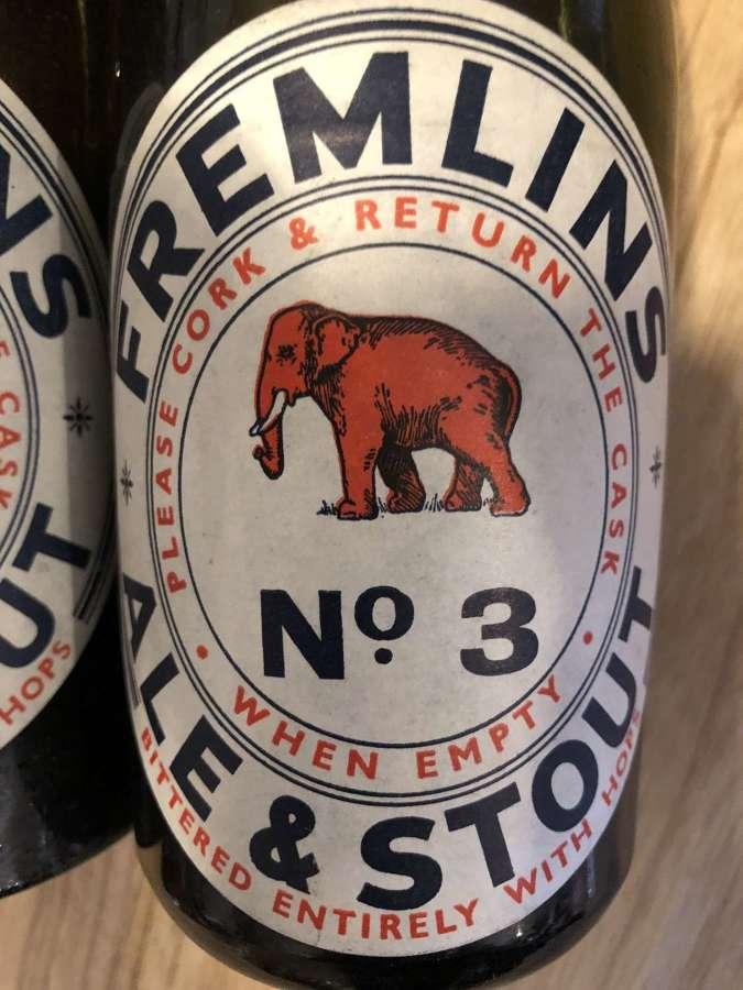 Vintage Fremlins Beer Bottle