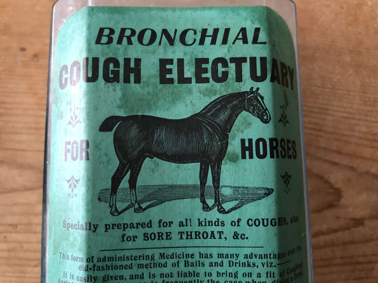 Bronchial Cough Electuary for HORSES
