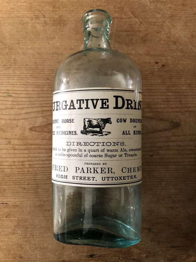Purgitive Drink Bottle