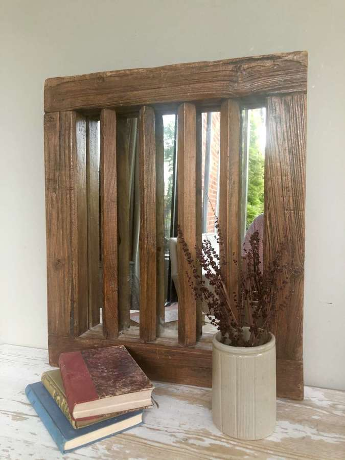 Antique Tudor Window (now mirror)
