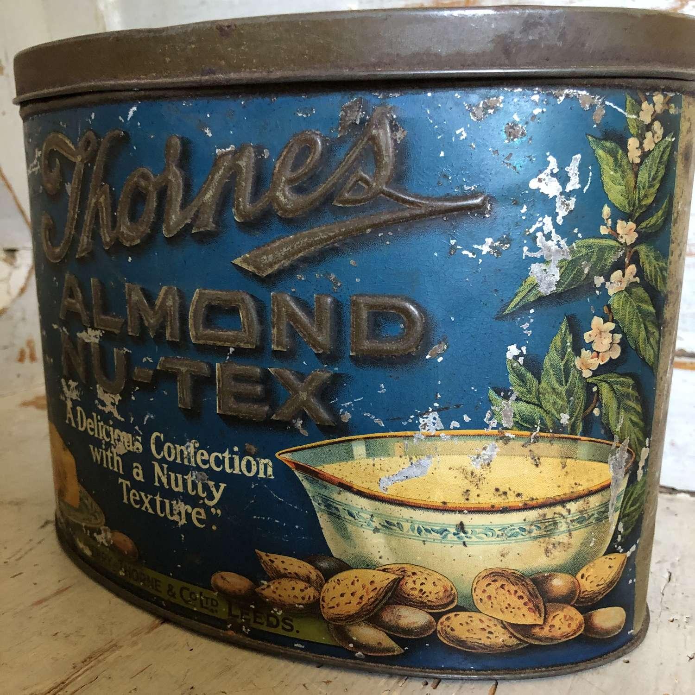 Thornes Almond Nu-tex Tin
