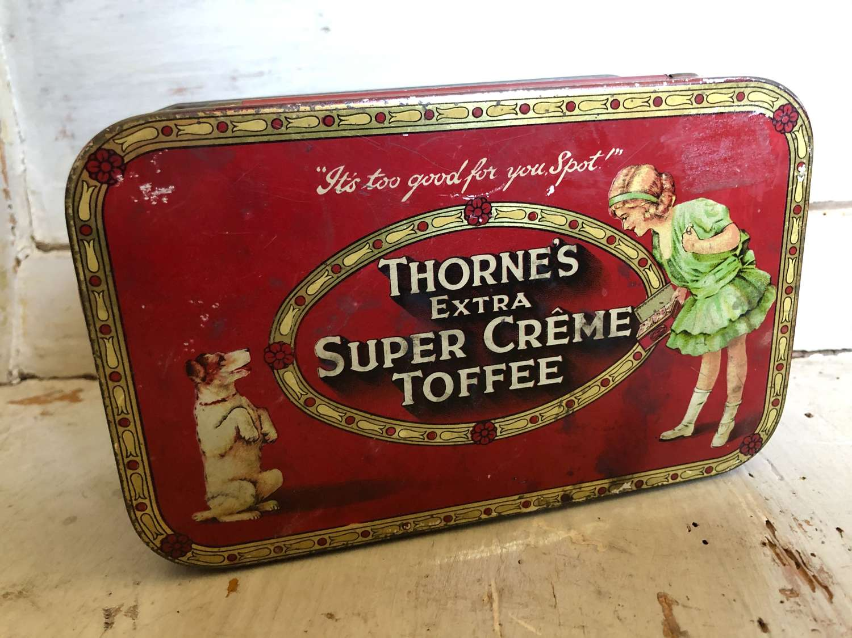 Thornes Super Creme Toffee Tin