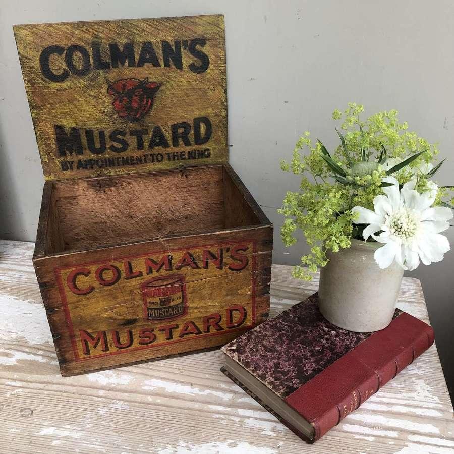 Colmans Mustard Box