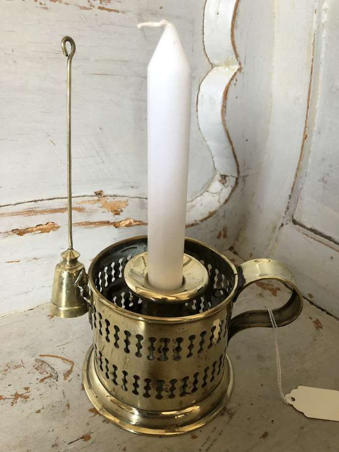 Victorian Candle Holder with Snuffer