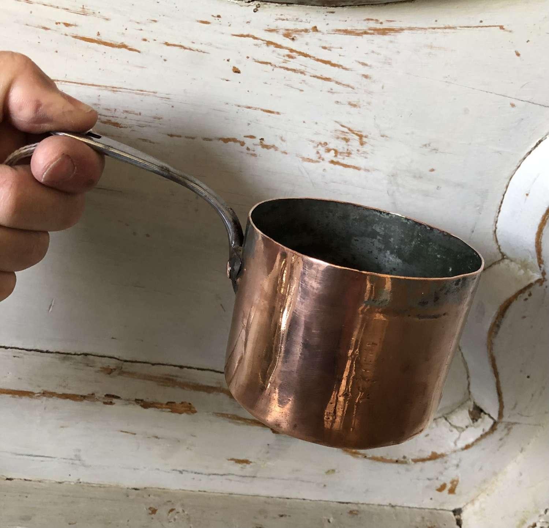 Quality Small size Copper Saucepan
