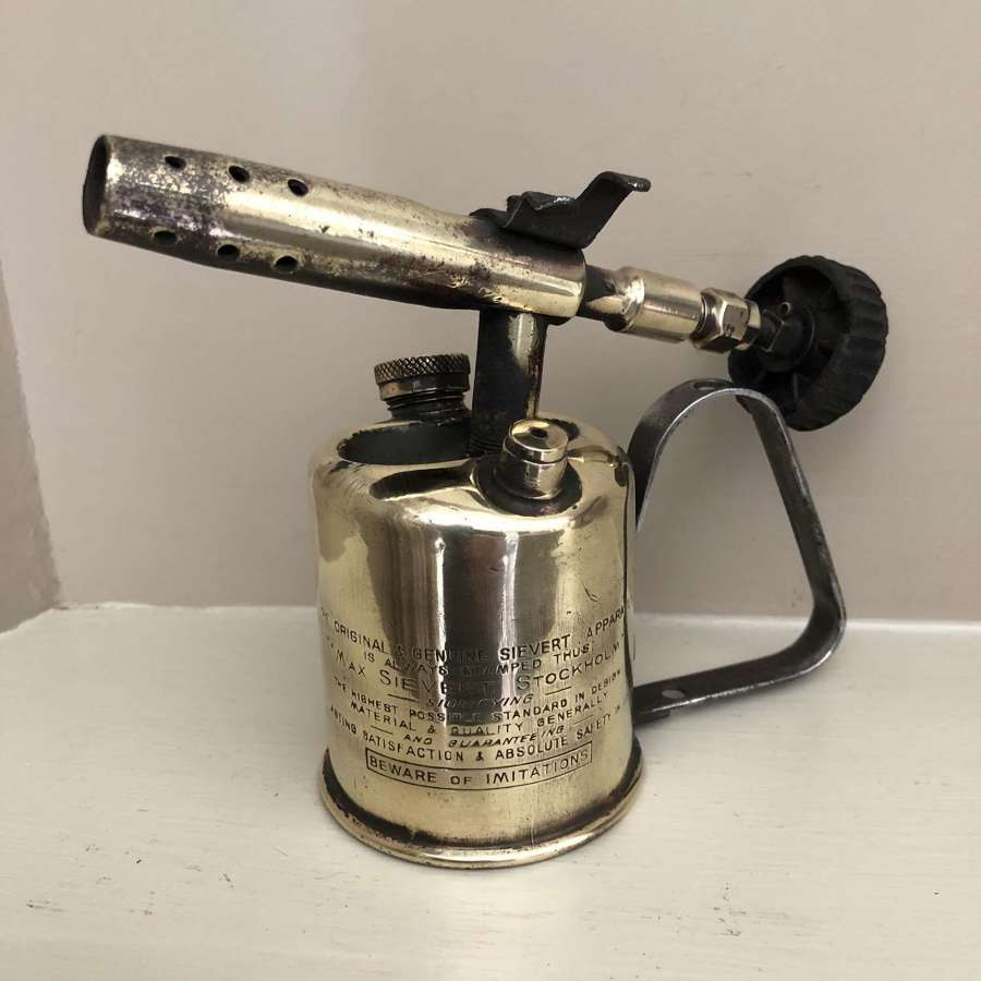 Very Small Brass Blow Lamp