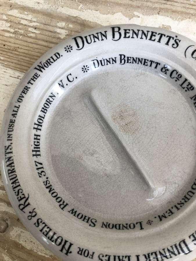 Dunn Bennenett;s unchippable dish